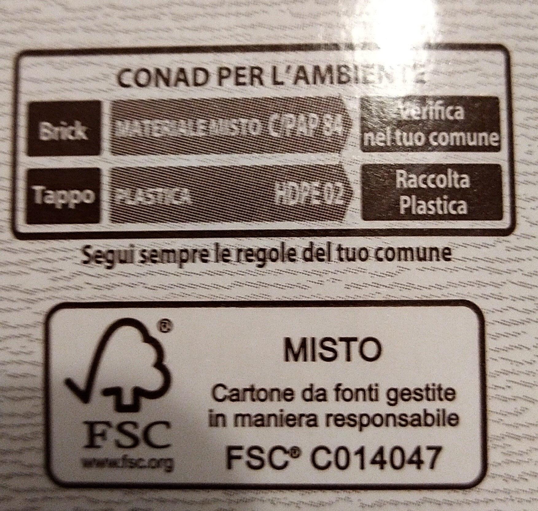 Bevanda a base du soia con cacao - Istruzioni per il riciclaggio e/o informazioni sull'imballaggio - it