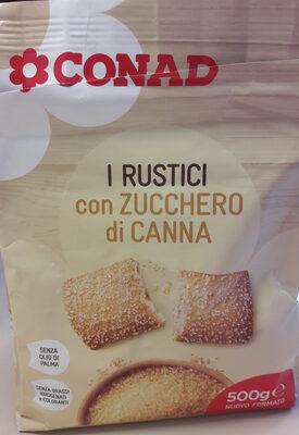 I RUSTICI con zucchero di canna - Product
