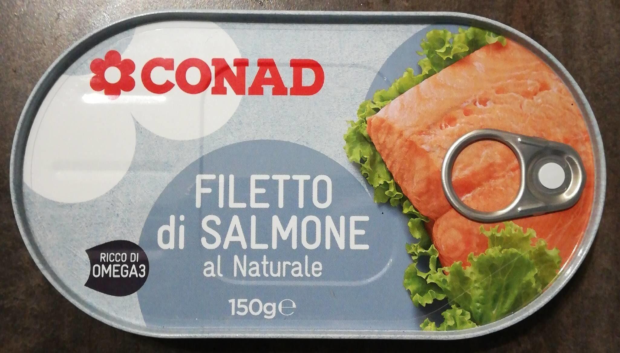 Filetto di salmone al naturale - Produit - it