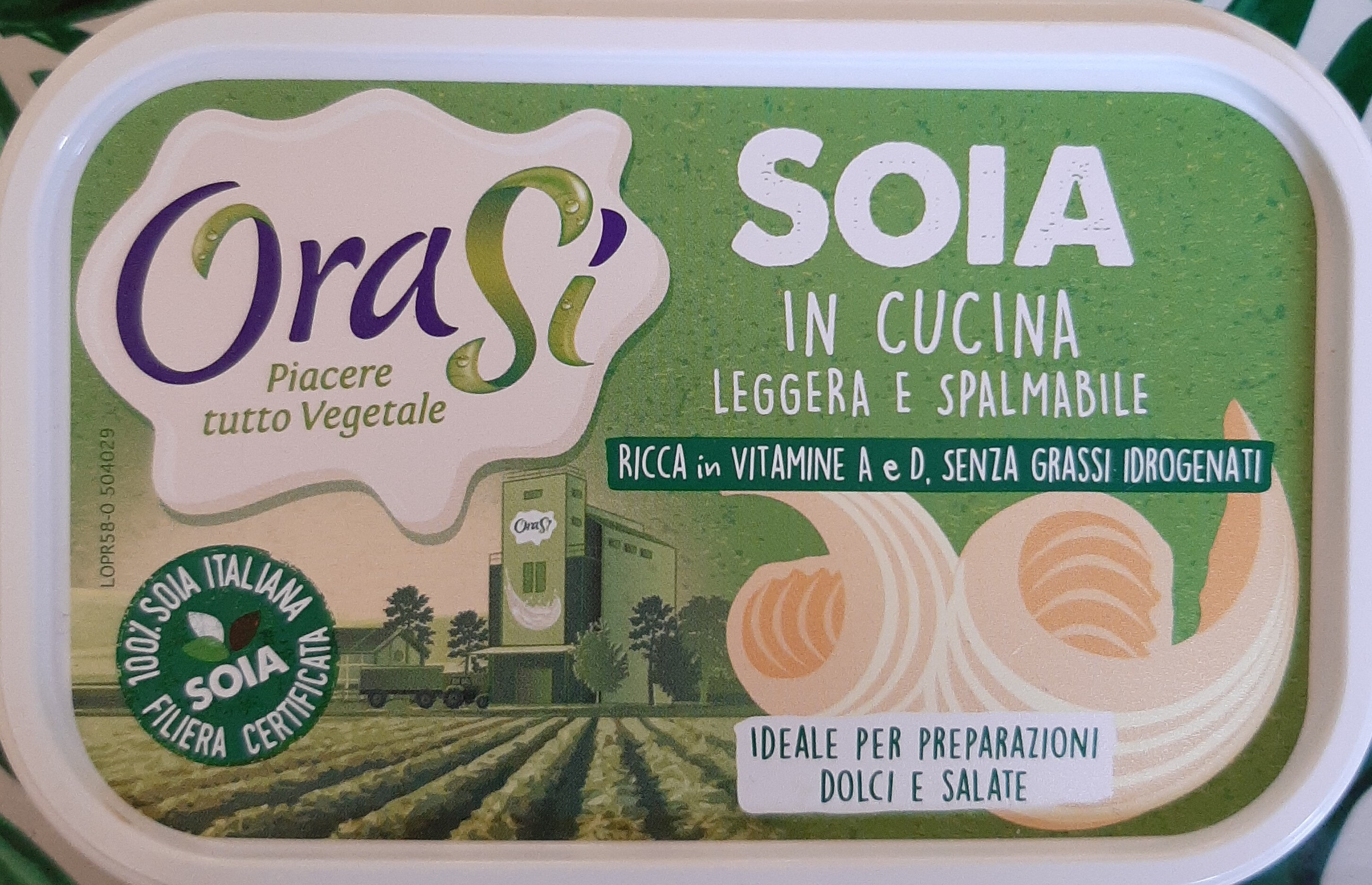 Margarina vegetale leggera 40% - Product - it