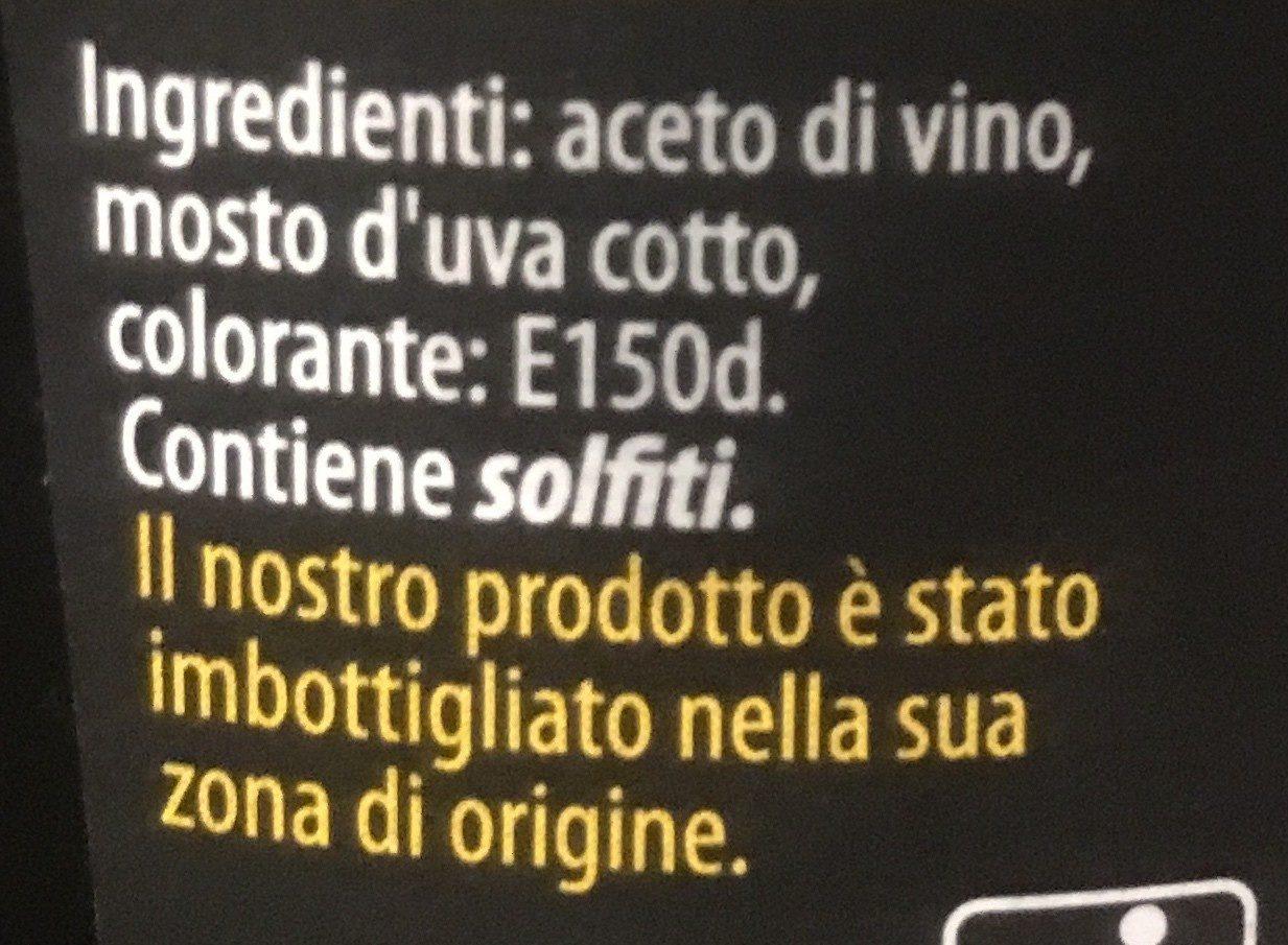 Aceto Balsamico Di Modena - Ingrediënten