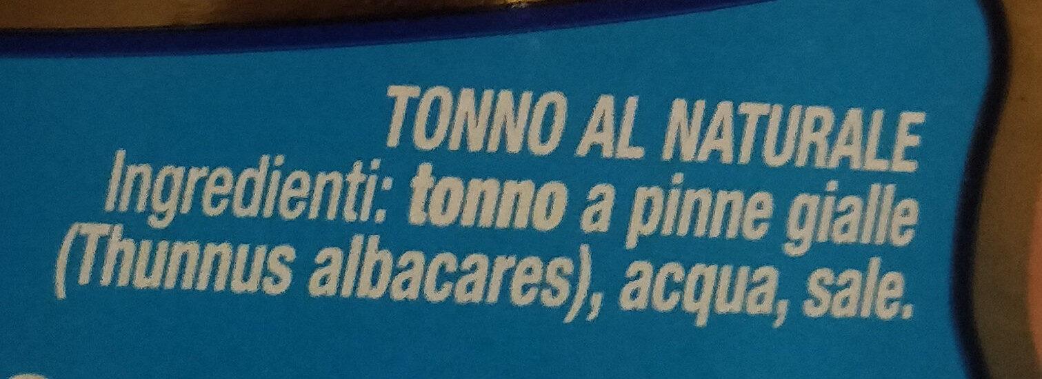 Filetti di tonno al naturale - Ingredienti - it