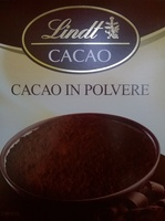 Lindt Cacao - Produit - it