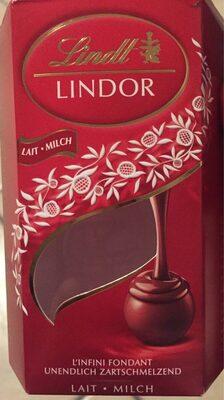 Lindor lait - Produit