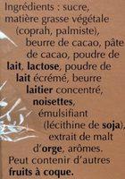 Assortiment Lindor - Ingredients