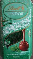 Chocolat Lindt  lindor menthe - Product