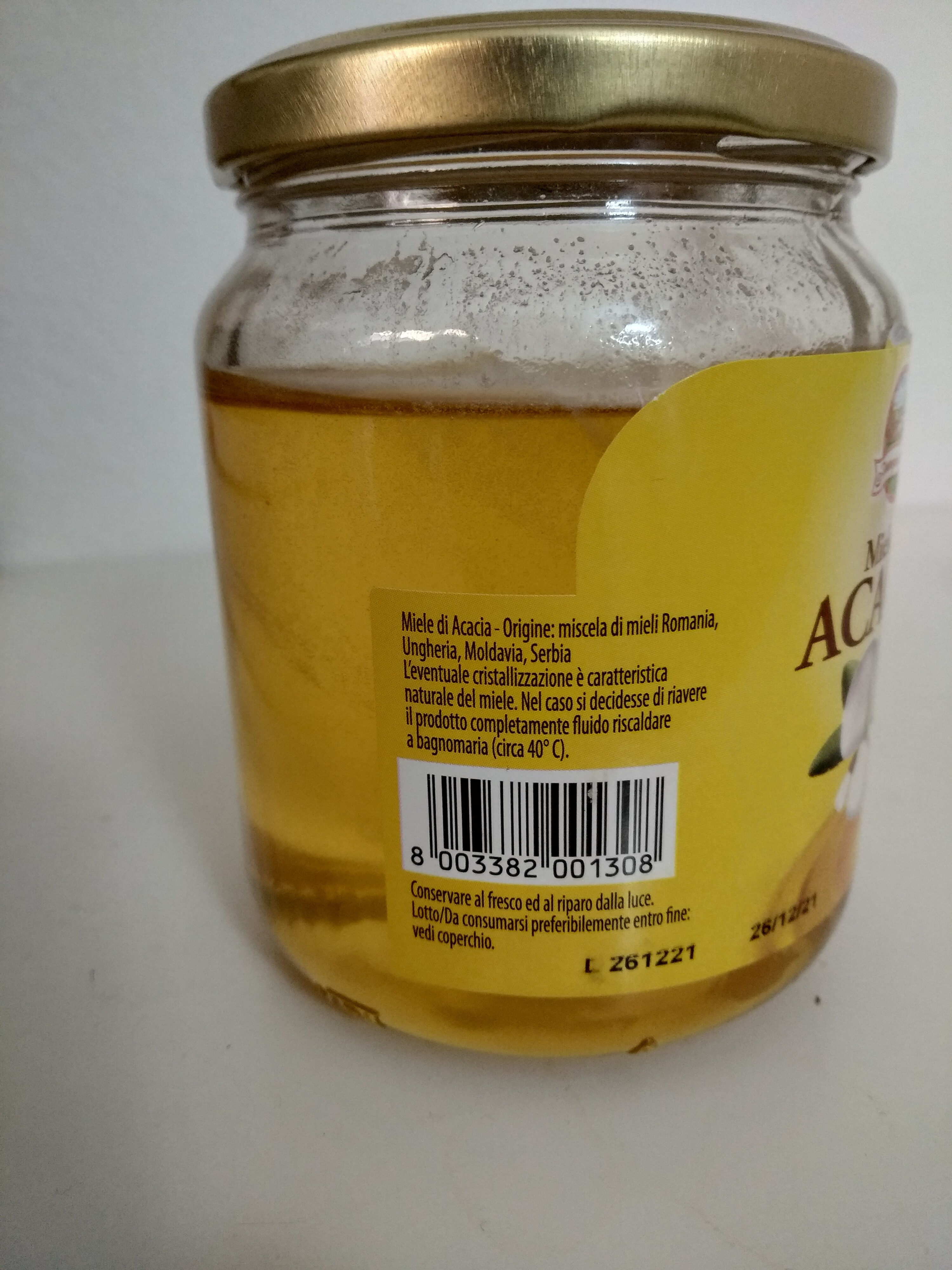 Miele di Acacia - Ingredients - it