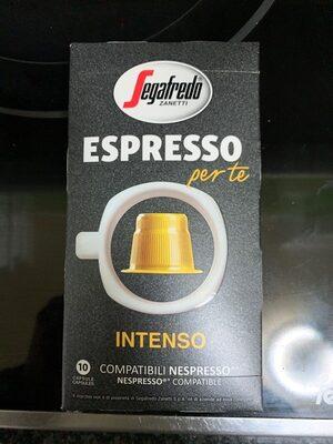 Cápsulas de café espresso intenso