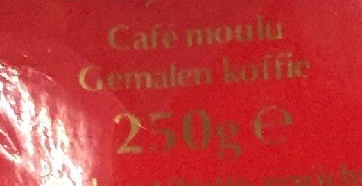 Zanetti Intermezzo Ground Coffee Italian Roast - Ingrédients - fr