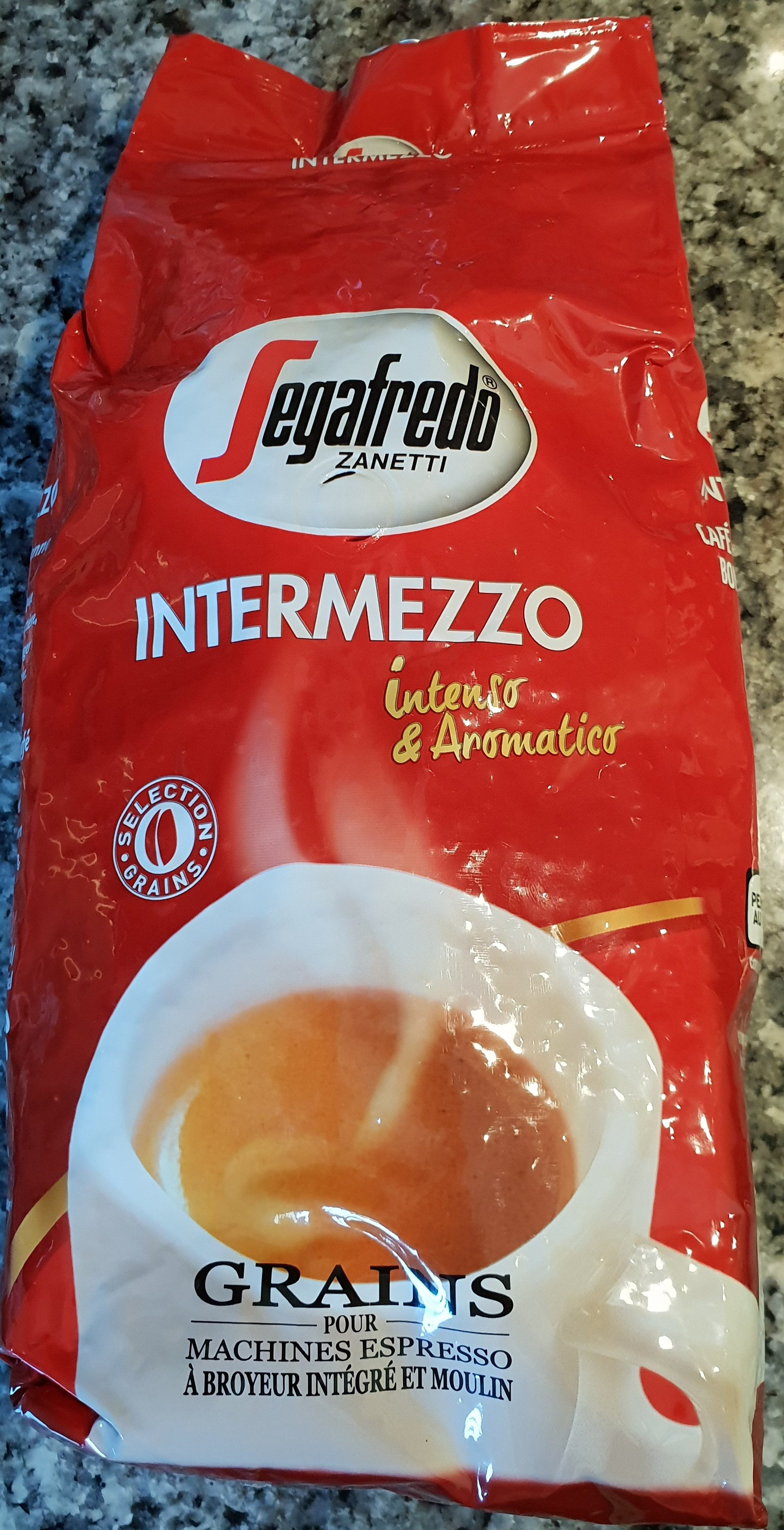 Segafredo Intermezzo Selection Gain 1Kg - Ingredients