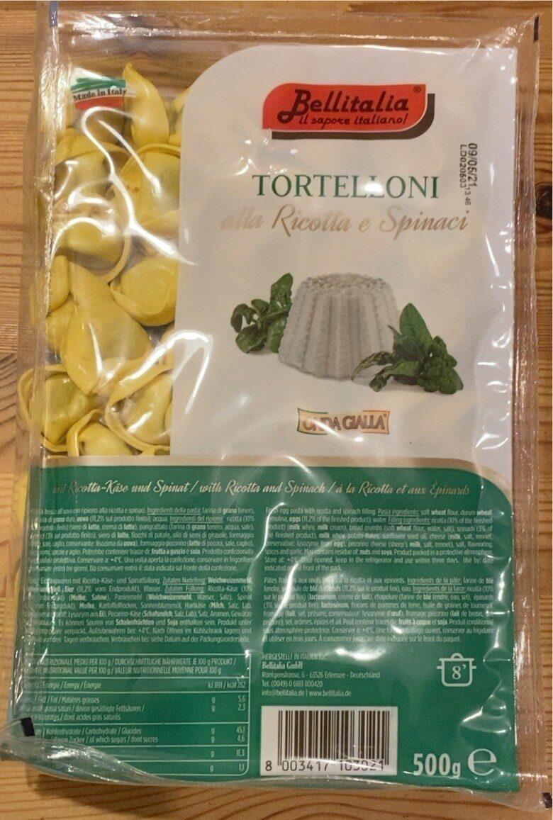 Tortelloni alla Ricotta e Spinaci - Produkt - de