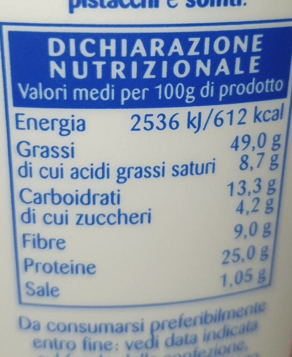 Arachidi - Informations nutritionnelles - it