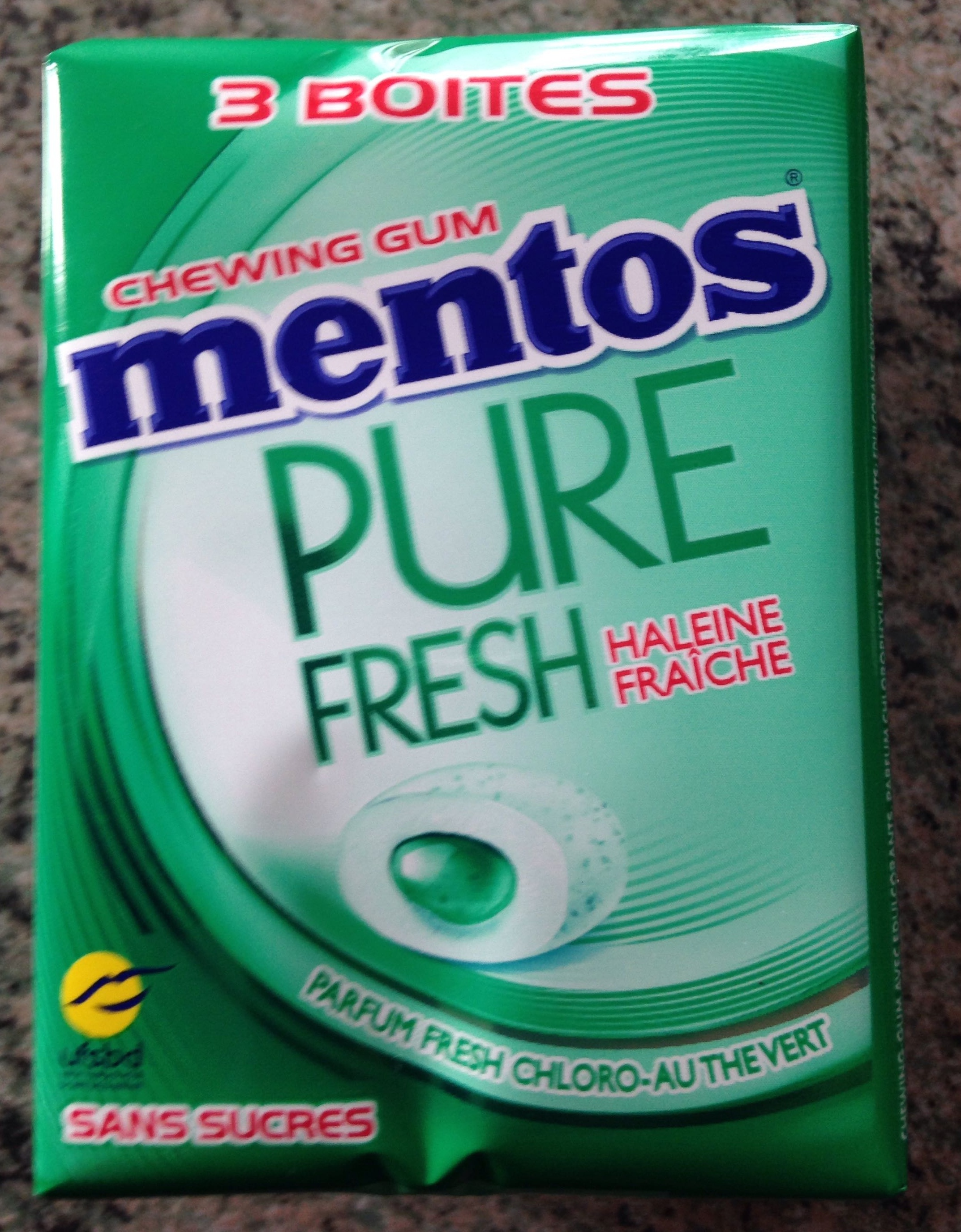 Mentos Pure Fresh - Product - fr