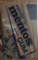 White mentos gum - Product