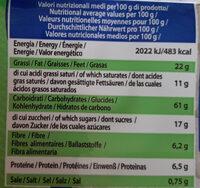 Dolce benessere con riso senza uova burro e latte aggiunti - Informations nutritionnelles - it