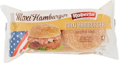 Maxi hamburge con semi di sesamo panini - Produit - fr