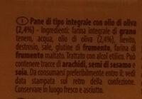 Pane a fette integrale - Ingrédients - it