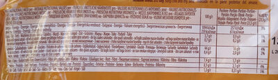Pane a fette integrale - Informations nutritionnelles - it