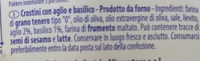 Bruschettine - Ingrediënten
