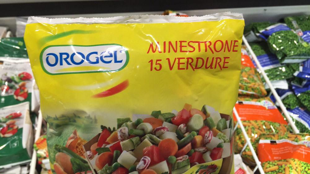 Orogel : minestrone 15 verdure - Produit - fr