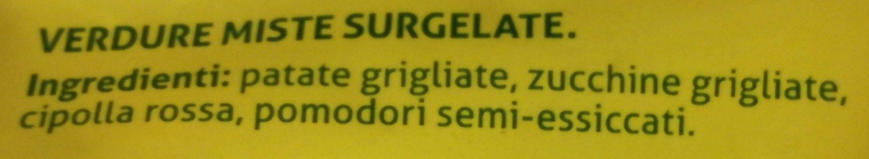 I Grigliati - Inhaltsstoffe - it