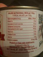 L'essenziale in doppio concentrato - Voedingswaarden - fr