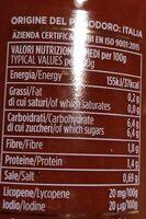 Polpa fine di datterini - Voedingswaarden