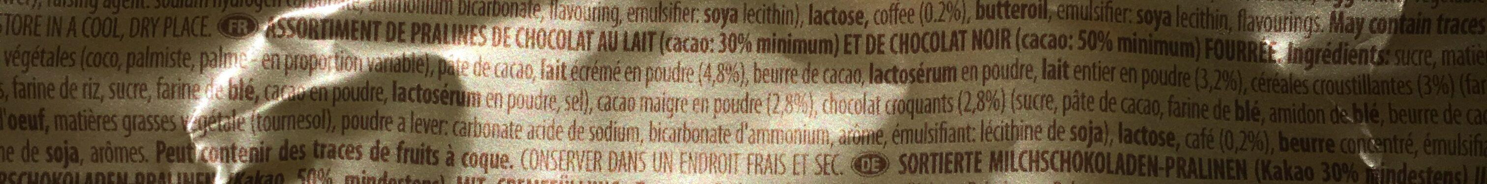 Speciality - Ingrediënten - fr
