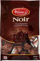 Noi cioccolato fondente con granella di cacao - Produit - fr