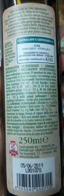 Olio di semi di lino - Ingredients