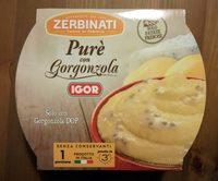 Purè con Gorgonzola IGOR - Produit