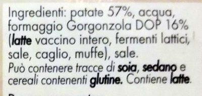 Purè con Gorgonzola IGOR - Ingrédients