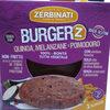 Burgerz quinoa, melanzane e pomodoro Zerbinati - Produit