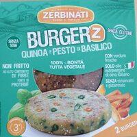 Burger quinoa e pesto di basilico - Product - it