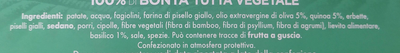 Burger quinoa e pesto di basilico - Ingrediënten - it