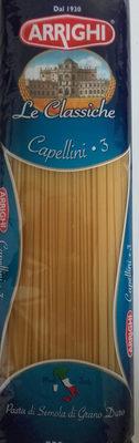 Arrighi Le Classiche 3 Capellini - Product