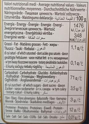 Lasagne le speciali - Nutrition facts