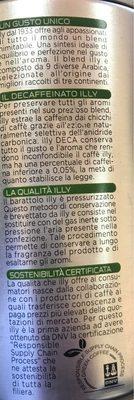 Illy Decaf Medium Roast Ground Coffee - Ingrediënten - fr