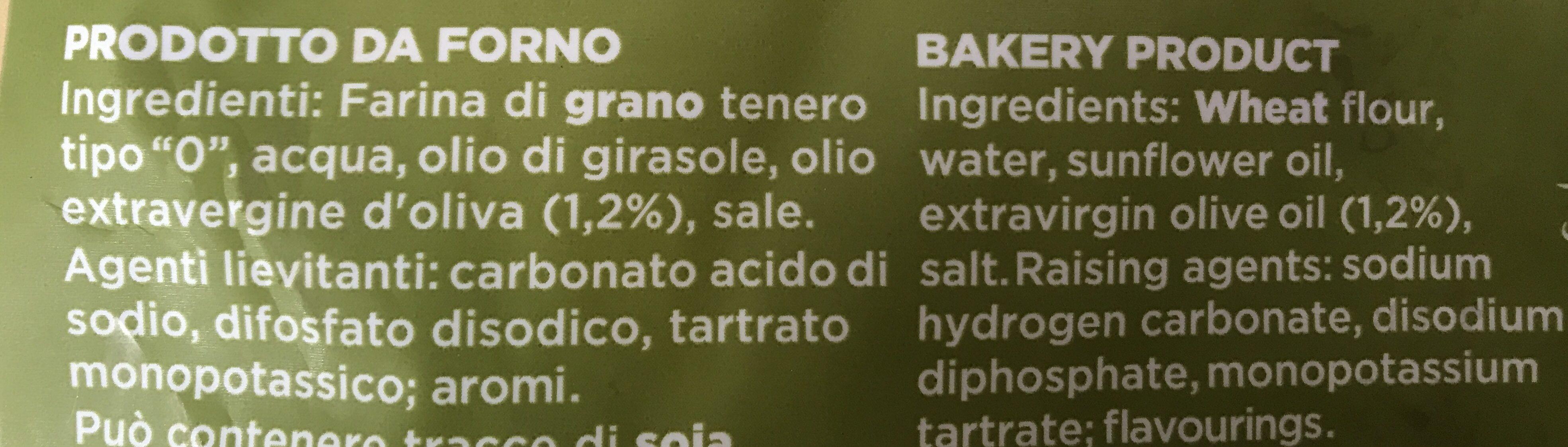 Piadina Arrotolabile Olioe. v. oliva - Ingredients - fr