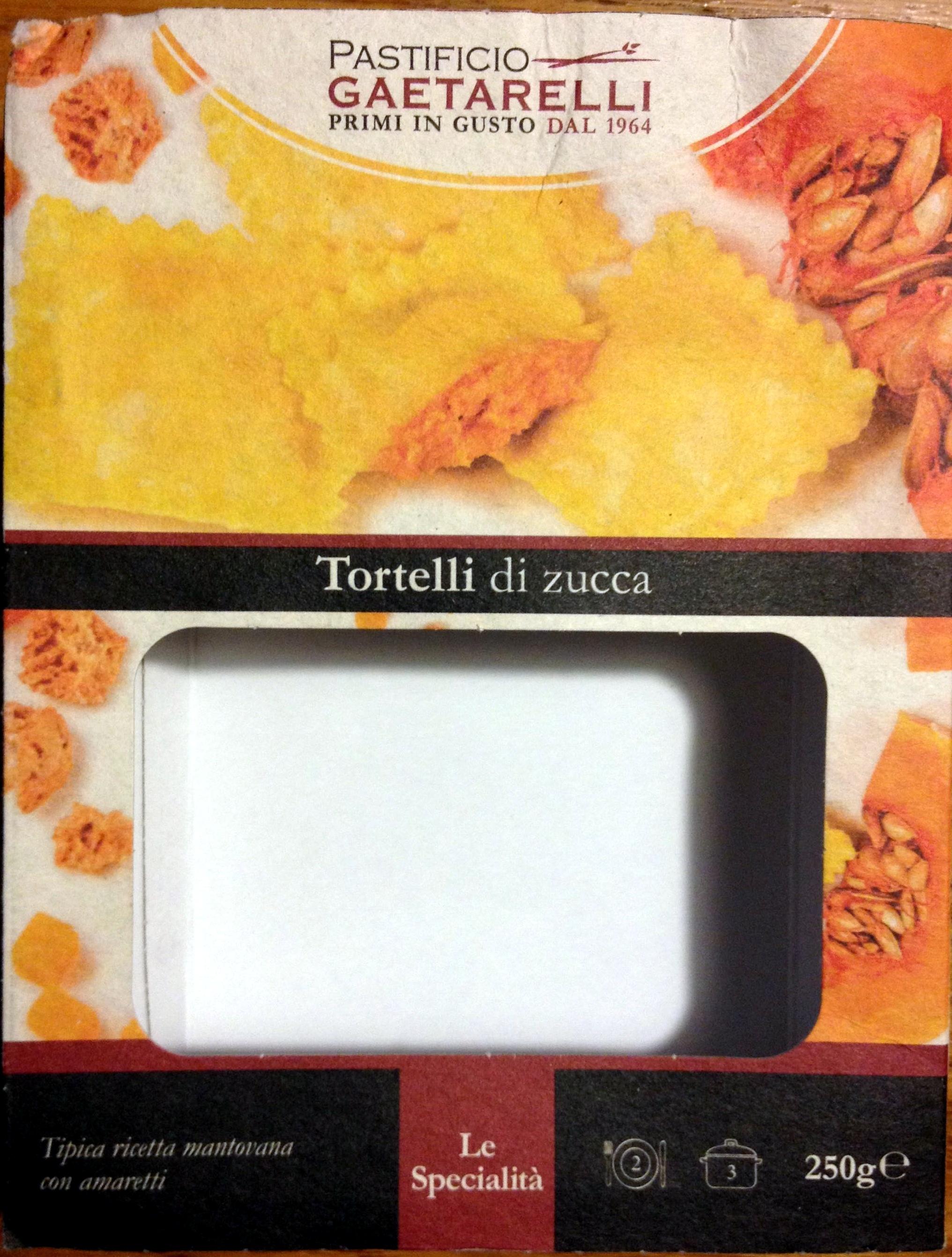 Tortelli di zucca - Product - it