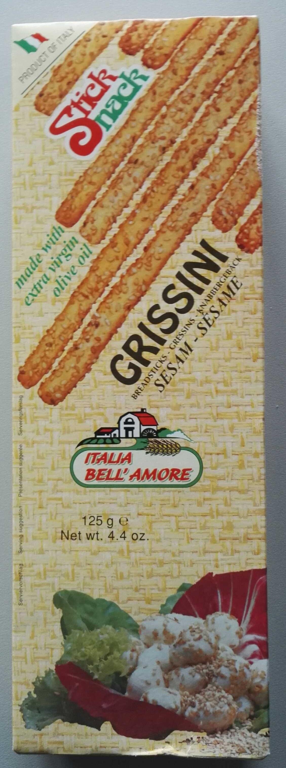 Stick Snack Grissini Sesame - Produit - fr