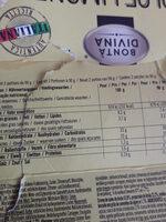 Dolce Limone - Informations nutritionnelles - fr