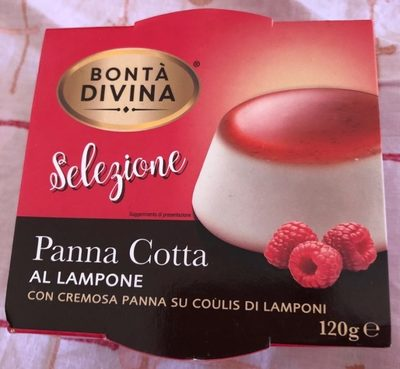 Panna Cotta Al Lampone - Product - fr