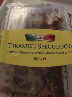 Tiramisu speculoos - Produkt - fr