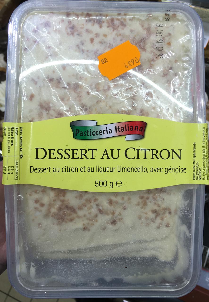 Dessert au Citron - Produkt - fr