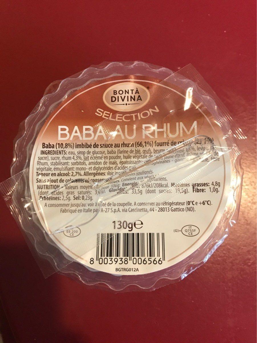 Baba au Rhum - Produkt - fr
