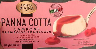 Panna cotta framboise - Produkt - fr