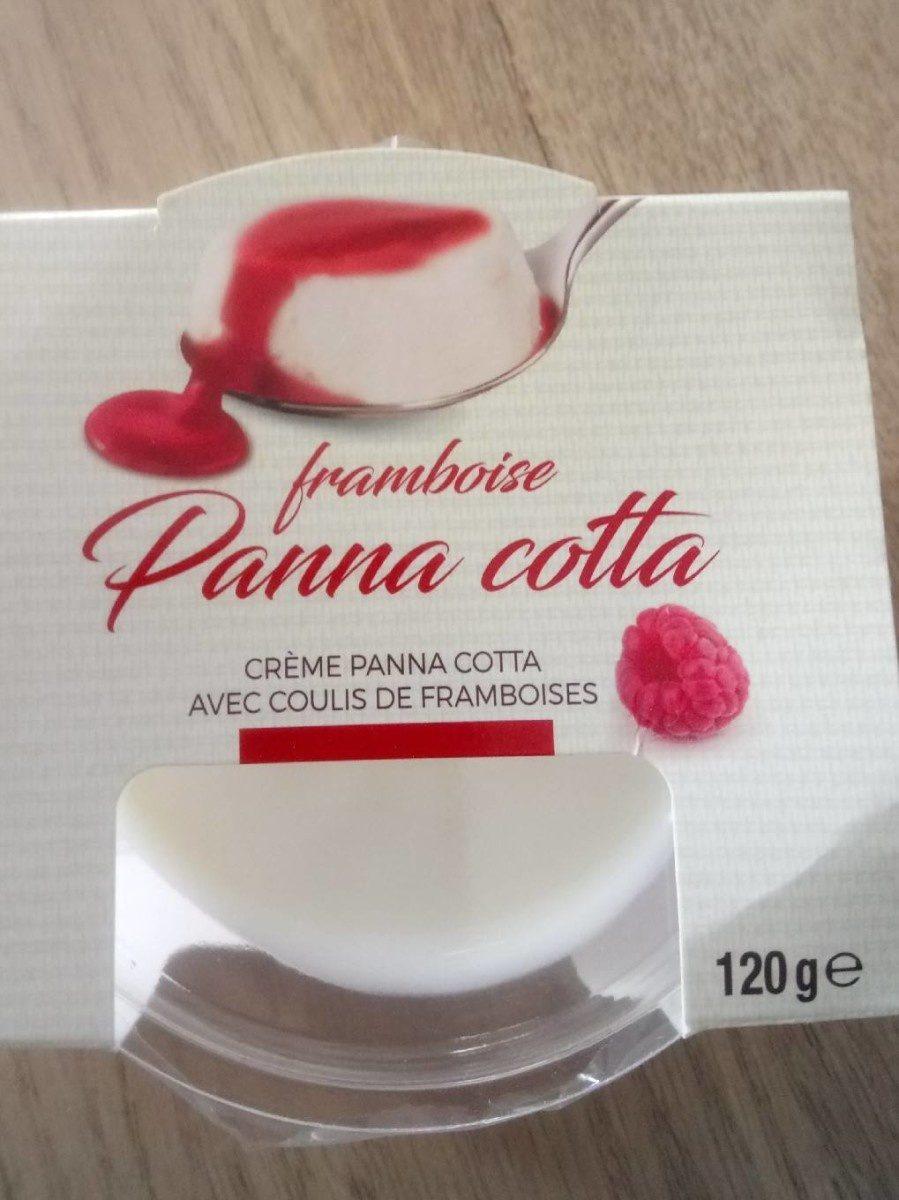 Panna cotta framboise - Produit - fr
