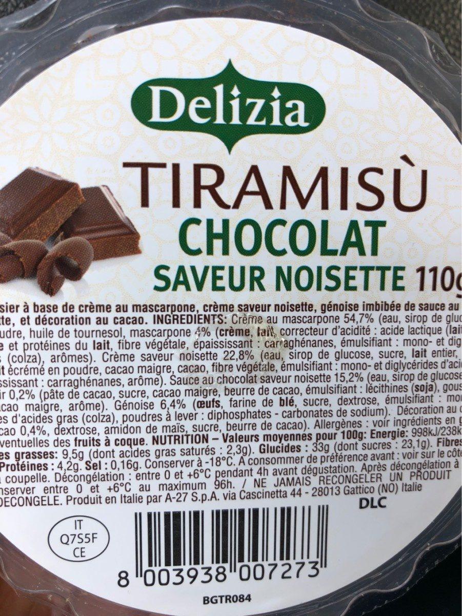 Tiramisù - Produit