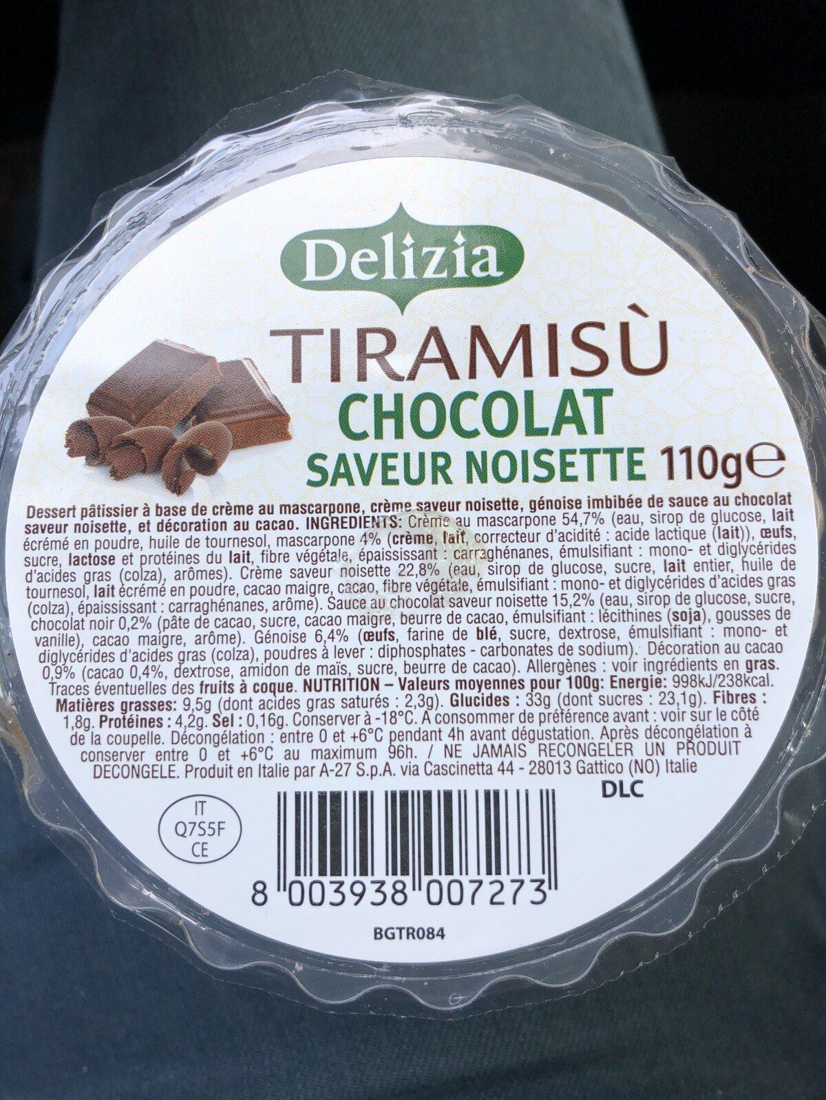 Tiramisù - Ingrédients